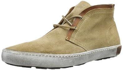 Blackstone DESERT HIGH SUEDE HM04 Herren Sneaker, Beige (canguroo), EU 41