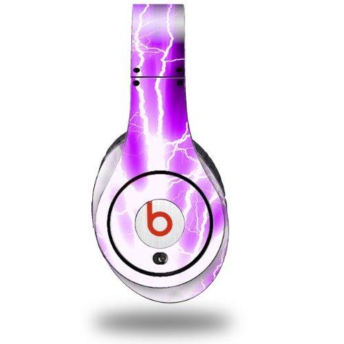 Lightning Purple Decal Style Skin (Fits Original Beats Studio Headphones - Headphones Not Included)