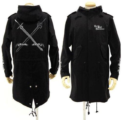 ソードアート・オンライン 黒の剣士M51ジャケット ブラック サイズ:M