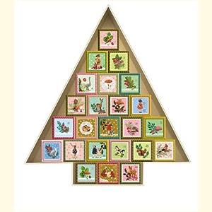 adventskalender zum bef llen 24 adventsboxen schachtel kalender kalender. Black Bedroom Furniture Sets. Home Design Ideas