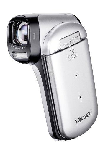 Sanyo VPC-CG20EX-B Xacti CG20 Full HD Dual Camcorder with 10M Photos and HDMI - Silver