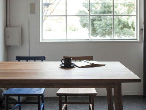SIEVE merge dining table シーヴ マージ ダイニングテーブル SVE-DT003 (ブラウン)