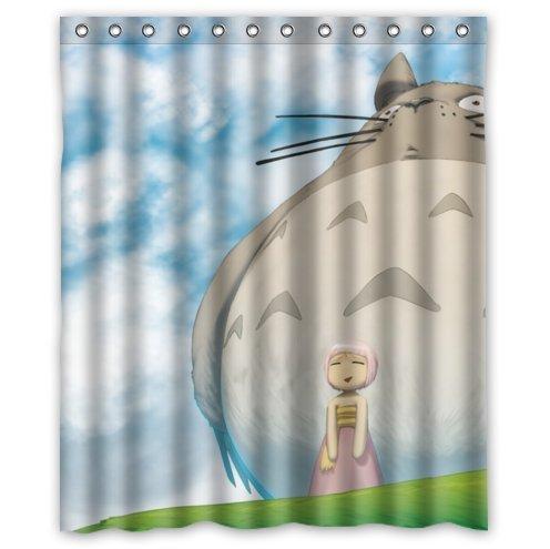 72x72/'/' Fairy Deers Mildew Bathroom Waterproof Fabric Shower Curtain 12 Hooks