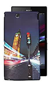 ECellStreet Exclusive Printed Soft Back Case Cover Back Cover For Sony Xperia Z Ultra XL39H - Tower
