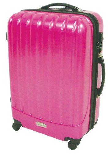 [キャプテンスタッグ] CAPTAIN STAG トラベルスーツケース(TSAロック付きダブルファスナータイプ) (ピンク) ピンク M MT-3587