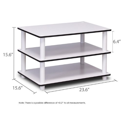 Furinno JUST 3-Tier No-Tools Coffee Table