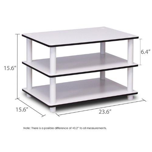Furinno JUST 3-Tier No-Tools Coffee Table