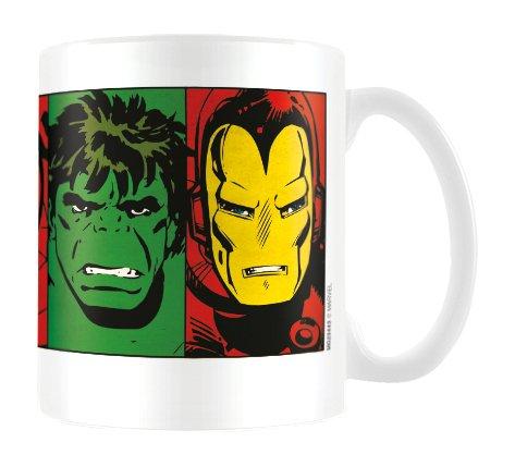 Marvel MG23443, 8 x 11,5 x 9,5 cm-Tazza in ceramica, motivo: copripiumino, colore: multicolore