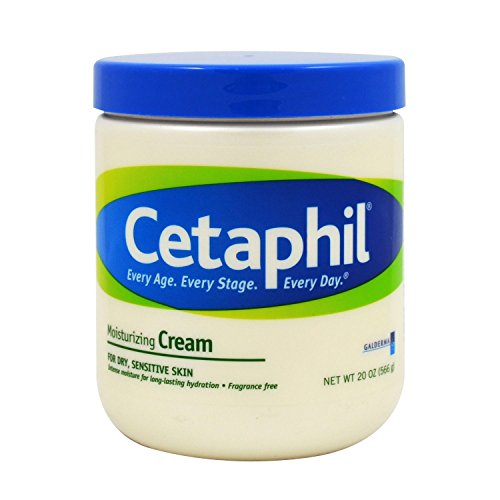 Cetaphil Moisturizing Cream for Dry, Sensitive Skin, 16 Ounce