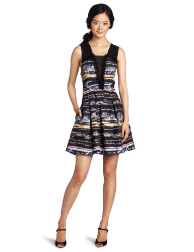 McGinn Women's Camille Jewel Dress, Dark Navy, Small