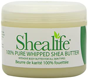 Shealife 100% Whipped Organic Shea Butter 220G