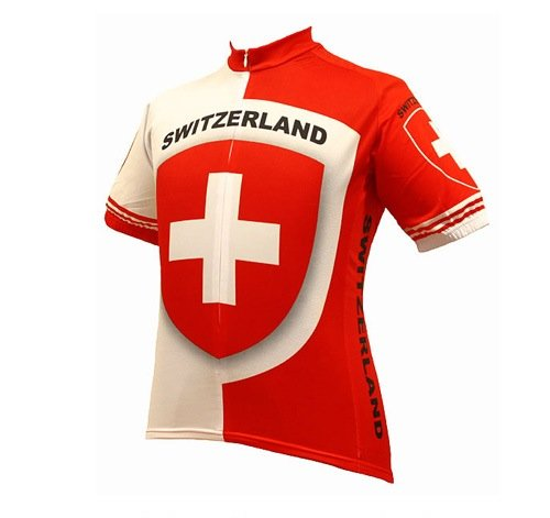 Buy Low Price World Jerseys Men's Switzerland Cycling Jersey (B004EWFZNM)