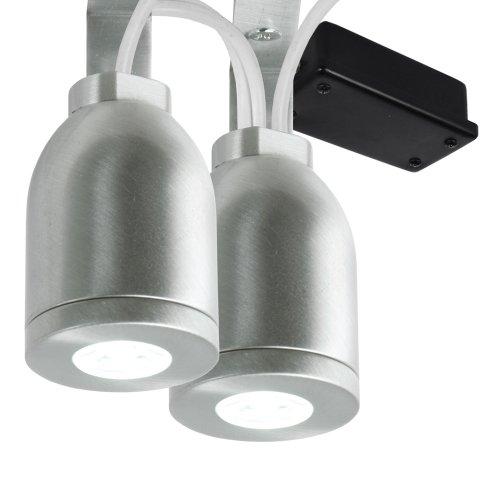 name ecolite 2 light led lighting kit for home soffit landscape. Black Bedroom Furniture Sets. Home Design Ideas