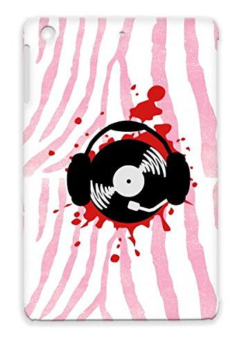 Rugged Red Dubstep Splatter Classic Drum Ampamp Bass Dj Design Gift Miscellaneous Earphones Oldschool Birthday Disc Jockey Techno Hip Hop Music Party Blood Record Player Bass Product Music Record Club Student Rap For Ipad Mini Design Case