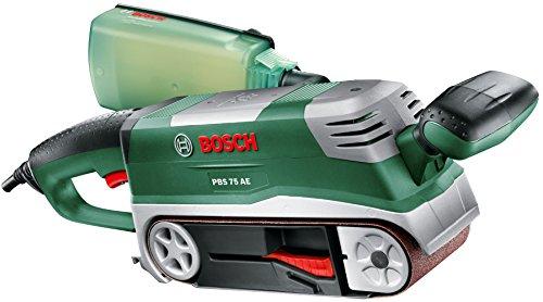 Bosch-DIY-Bandschleifer-PBS-75-AE-Set-1-Schleifband-K-80-2-Schraubzwingen-Parallel-und-Winkelanschlag-Halter-Koffer-750-W-Schleifflche-76x165-mm-Bandabmessung-75x533-mm