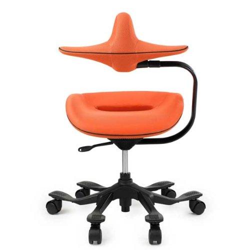 iPole7ウリドルチェアー<ファブリック>オレンジ