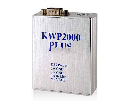 Kwp2000 Car Ecu Reader Plus Flasher With Led Indicator (Silver)