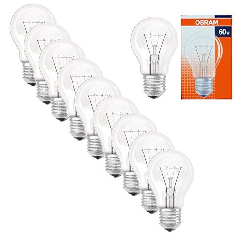 osram-10-x-agl-60w-e27-light-bulb-clear-710-lumen-classic-bulb