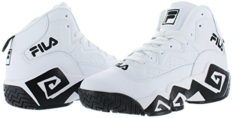 Fila MB Jamal Mashburn Retro Men s Basketball Shoes White Size 8 5