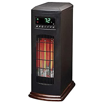 21 In. 1500-watt 3-long Vertical Element Large Room Infrared Tower Heater with Remote