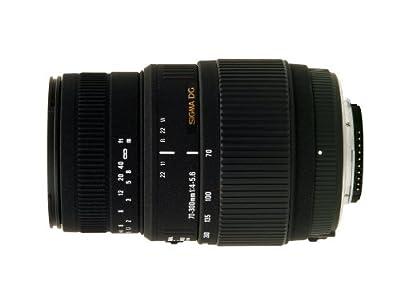Sigma 70-300mm f4.0–5.6DG Macro Lens 58mm Filter Thread