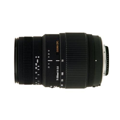 SIGMA 望遠ズームレンズ 70-300mm F4-5.6 DG MACRO ニコン用 フルサイズ対応