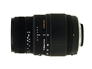 Sigma 70-300mm f4-5.6 DG Macro For Nikon Digital & Film Cameras