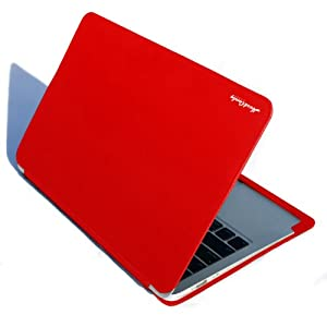 Hard Candy Cases CS-MACAIR13-RED Convertible Case für MacBook Air 33 cm (13 Zoll) rot