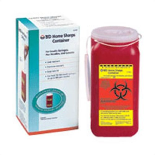 BD Home sharps container for insulin syringes