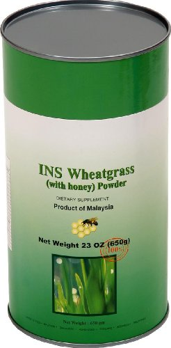 Wheatgrass Honey Jar