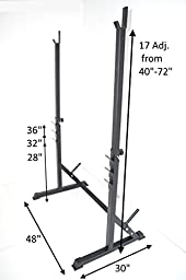 Squat Rack HD Power Weight Bench Racks 72\