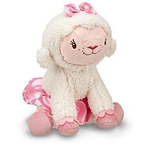 """Disney Jr. Doc McStuffins Lambie 7"""" Plush by Disney"""