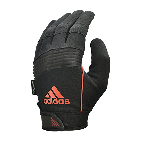 Adidas prestazioni Full Finger guanti, colore Nero/Arancione, L