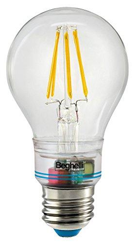 BEGHELLI 56305 - Lampada Led NUOVA SORPRESA ZAFIRO per emergenza LED 6W 230V E27