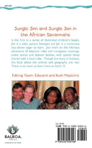 Jungle Jim and Jungle Jen in the African Savannahs
