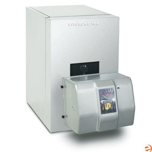 Vitorond 100, VR1-33, Cast Iron Oil Fired Hot Water Boiler, Less Burn