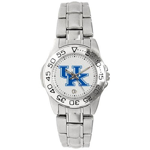 Kentucky Wildcats Ladies Gameday Sport Watch w/Stainless Steel Band