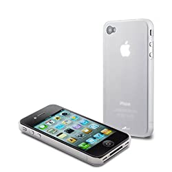 Acase(TM) Superleggera milky way fit case for iPhone 4 4S (Silver) (AT&T and Verizon and Sprint iPhone 4 4S)