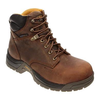 Amazon.com: Carolina Men's Waterproof Broad Toe Work Boot: Shoes