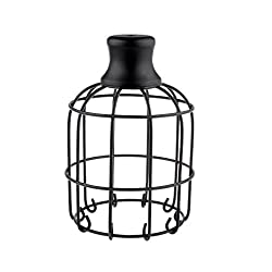 Vintage Retro Style Lampshade Ceiling Bulb Chandelier Sconce Decor Black - wine gourd , 7.87 x 5.51 inch / 20 x 14 cm