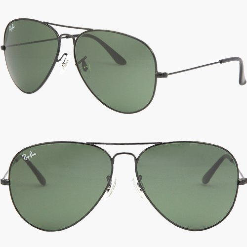 RAY BAN Aviator RB3026 L2821 Sunglasses – Black (62mm)