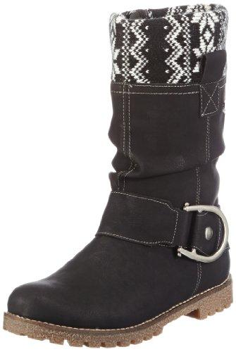 Rieker Kinder Girls Rieker Teens Boots Black Schwarz (nero/schwarz-weiss 01) Size: 33