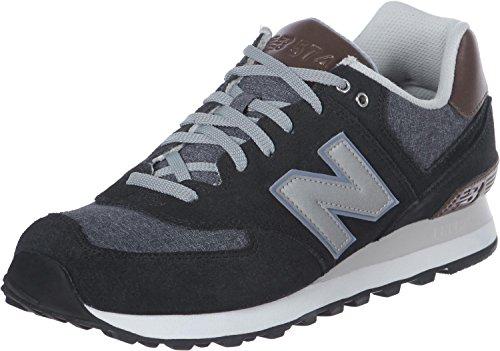New Balance 574, Zapatillas Para Hombre, Blanco (Bone/Red/Brown), 40.5 EU