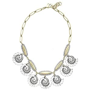 Lulu Swirling Wave Necklace - Great Quality