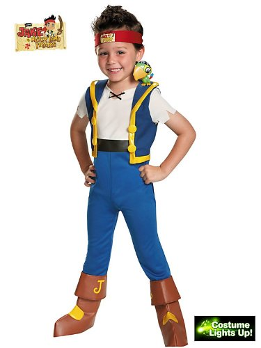 Little Boys' Jake And The Neverland Pirates Light-Up Costume