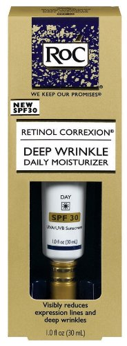 RoC Deep Wrinkle Daily Moisturizer SPF30, 1-Fluid