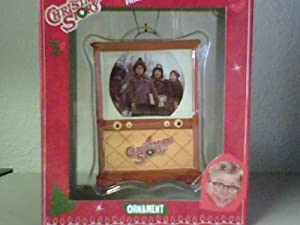 Amazon.com - A Christmas Story Ornament - TV Shape Design ...