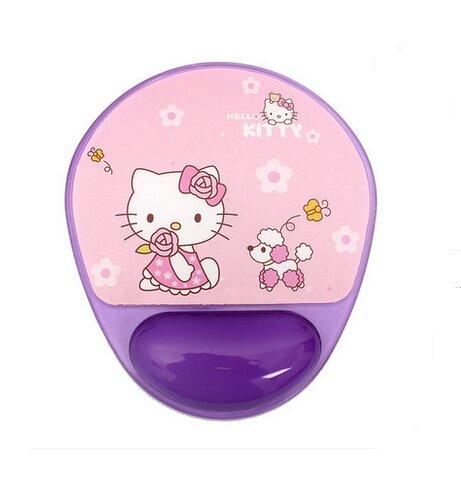 Creative PVC Hello Kitty Natural Gel Mouse Pad Cute Cartoon Totoro Wrist Mouse Pad (B)