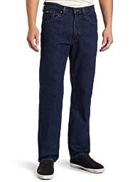 Lee Men's Regular Fit Straight Leg Jean, Dark Stone, 32W x 30L