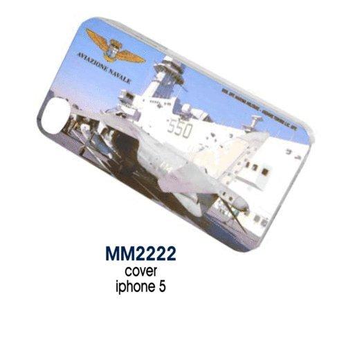Giemme articoli promozionali - Cover Iphone 5 Aereo Aviazione Navale Marina Militare Prodotto Ufficiale